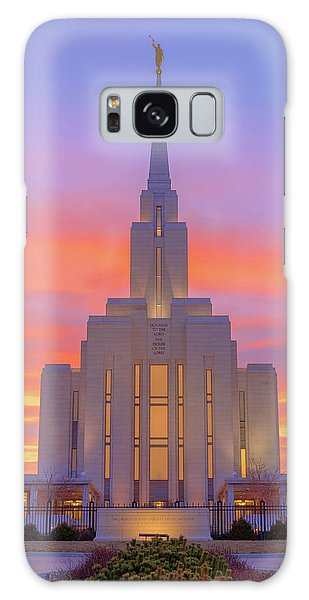 Temple Galaxy Case - Oquirrh Mountain Temple IIi by Chad Dutson
