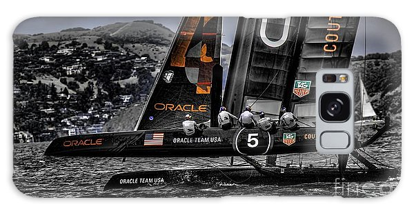 Oracle Winner 34th America's Cup Galaxy Case
