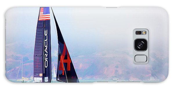 Oracles Usa  America's Cup Paint  Galaxy Case