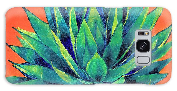 Orange And Agave Galaxy Case by Dawnstarstudios