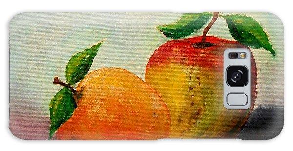 Apple And Orange Galaxy Case