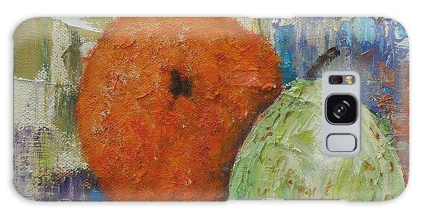Orange And Pear Combo Galaxy Case