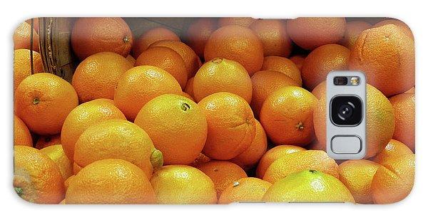 Orange Basket Galaxy Case