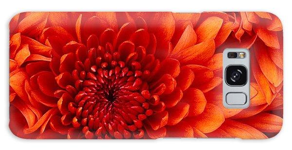 Orange Bloom Galaxy Case