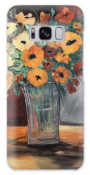 Orange Blossoms Galaxy Case
