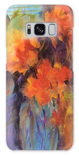Orange Bouquet Galaxy Case
