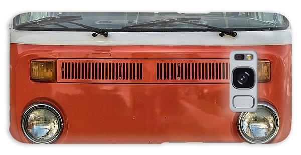 Orange Bus Galaxy Case