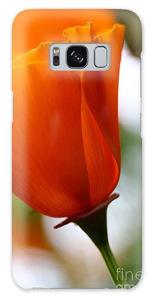 Orange California Poppy . 7d14789 Galaxy Case