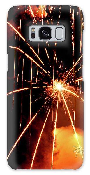 Orange Chetola Fireworks Galaxy Case
