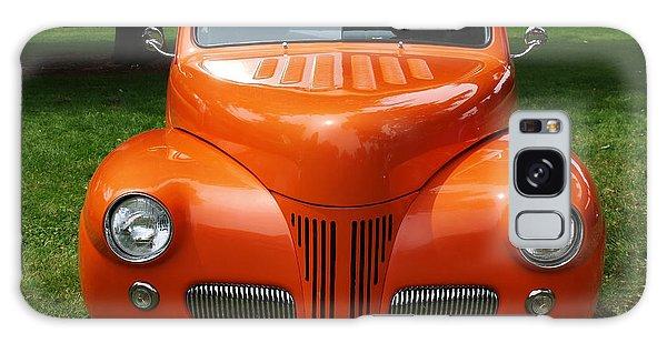 Orange Classic  Galaxy Case