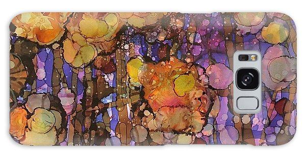 Passion Poppies Galaxy Case