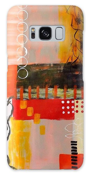 Orange Crush Galaxy Case by Suzzanna Frank