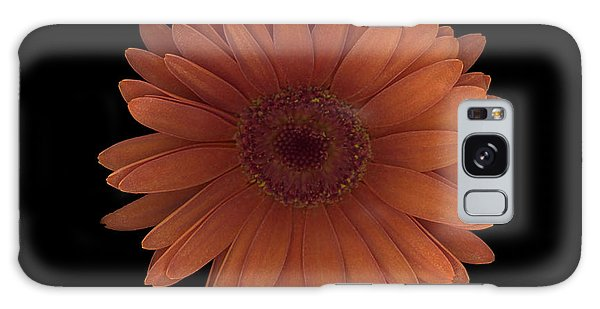 Orange Daisy Front Galaxy Case
