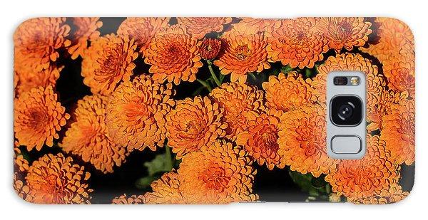 Orange Flowers Galaxy Case