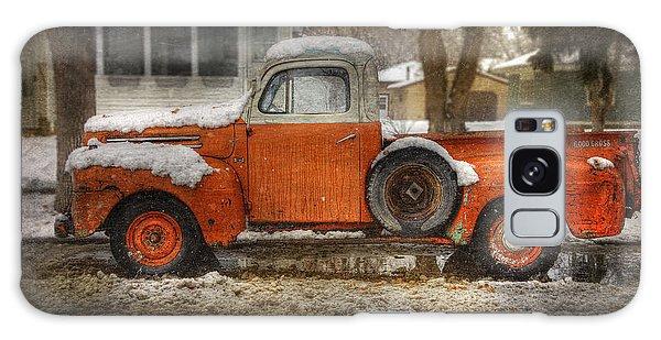 Orange Ford 150 Galaxy Case