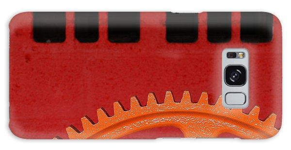 Orange Gear 1 Galaxy Case