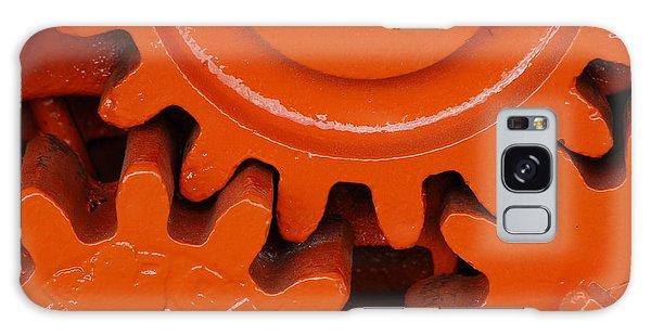 Orange Gear 2 Galaxy Case