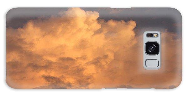 Orange Hue Galaxy Case