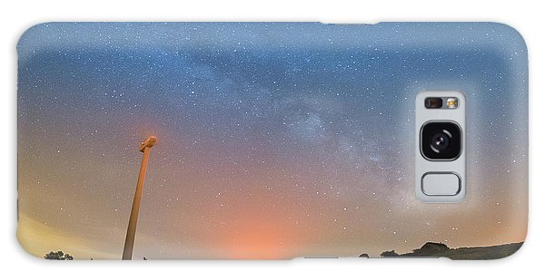 Galaxy Case featuring the photograph Orange Is The New Sky by Bruno Rosa