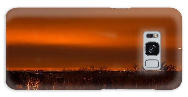 Orange Light Galaxy Case