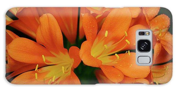 Orange Lilies No. 1-1 Galaxy Case