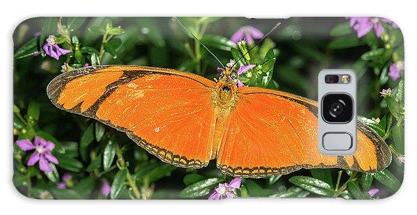 Orange Longwing Galaxy Case