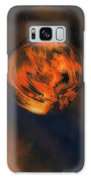 Orange One Galaxy Case
