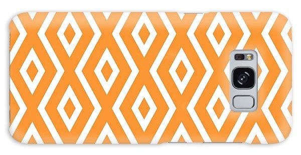 Pattern Galaxy Case - Peach Pattern by Christina Rollo