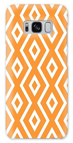 Art Nouveau Galaxy Case - Peach Pattern by Christina Rollo