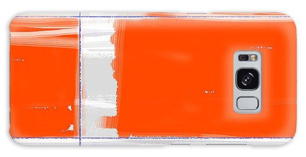 Form Galaxy Case - Orange Rectangle by Naxart Studio