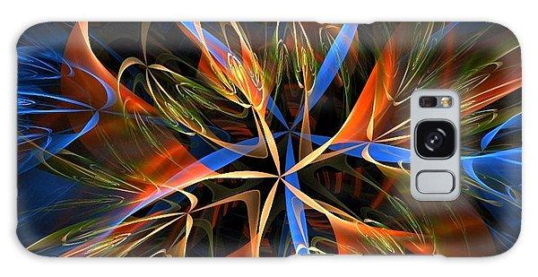 Orange Ribbons Galaxy Case