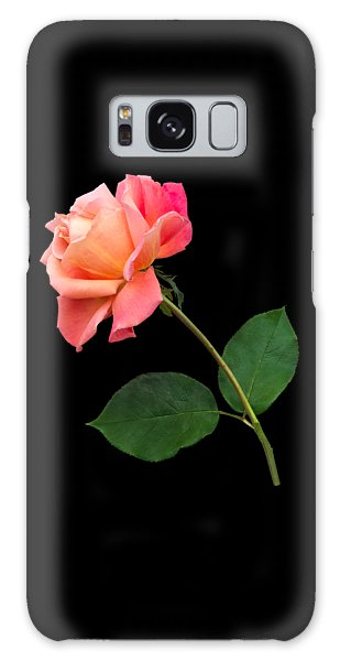 Orange Rose Specimen Galaxy Case by Jane McIlroy