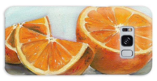 Orange Galaxy S8 Case