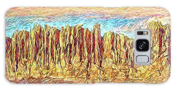 Orange Sky Cliffs - Colorado Galaxy Case