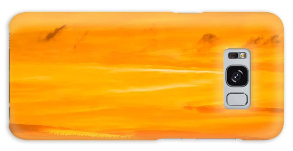 Orange Sky Galaxy Case