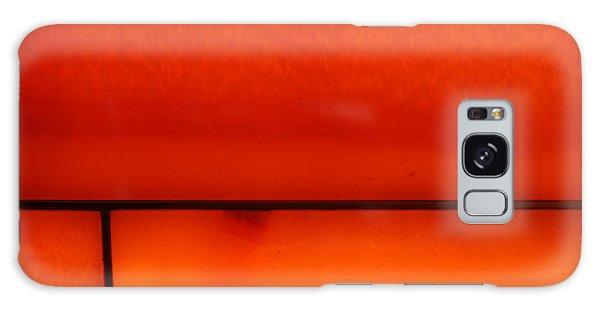 Orange Stone 4 Galaxy Case