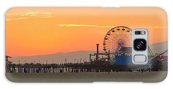 Orange Sunset - Panorama Galaxy Case