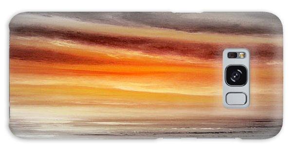 Orange Sunset - Panoramic Galaxy Case