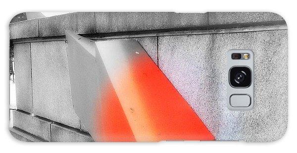 Orange Tipped Arrow Galaxy Case