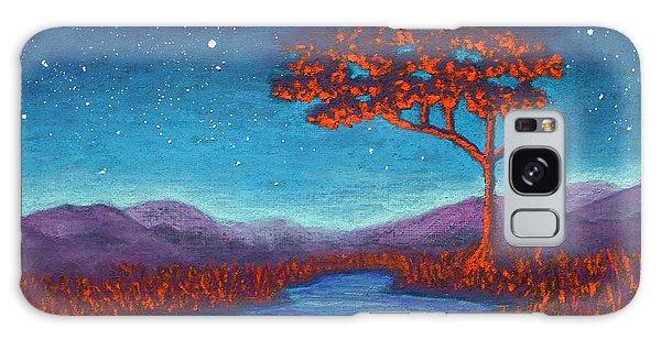 Orange Tree 01 Galaxy Case