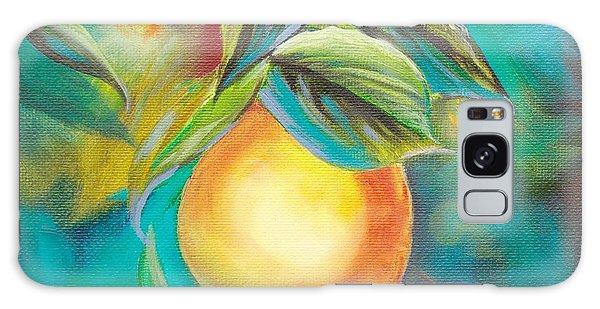 Orange Tree Galaxy Case