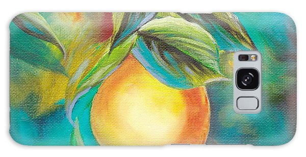 Orange Tree Galaxy Case