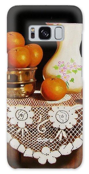 Orange You Sweet  Galaxy Case