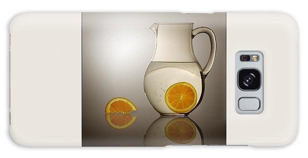 Oranges And Water Pitcher Galaxy Case by Joe Bonita