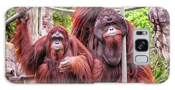Orangutan Couple Galaxy Case