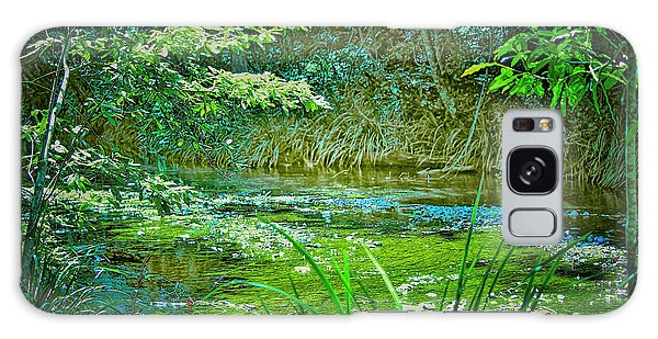 Galaxy Case featuring the photograph Orara River by Wallaroo Images