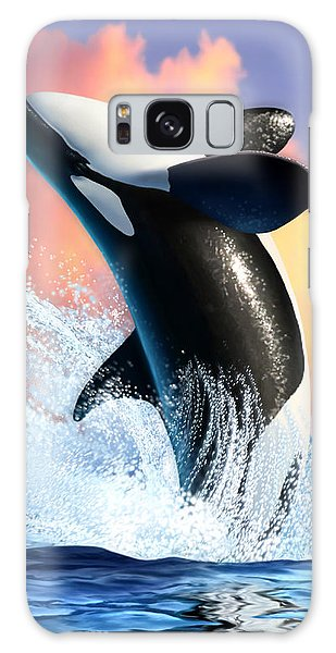 Reflections Galaxy Case - Orca 1 by Jerry LoFaro