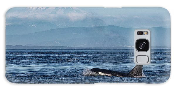Orca Male With Mt Baker Galaxy Case