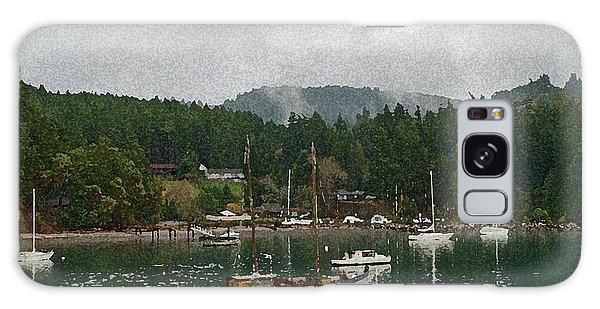 Orcas Island Digital Enhancement Galaxy Case