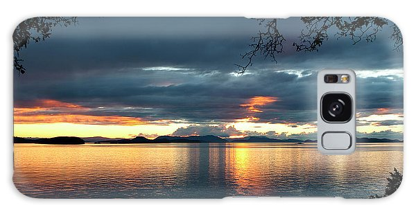 Orcas Island Sunset Galaxy Case